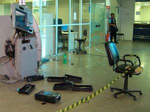Caixa é arrombado em secretaria no CAB, diz polícia em Salvador (Foto: Imagem/TV Bahia)