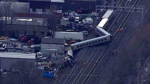Acidente de trem deixa três mortos no Canadá (Foto: BBC)