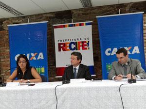 João da Costa falou sobre o lançamento nesta terça. (Foto: Katherine Coutinho / G1)