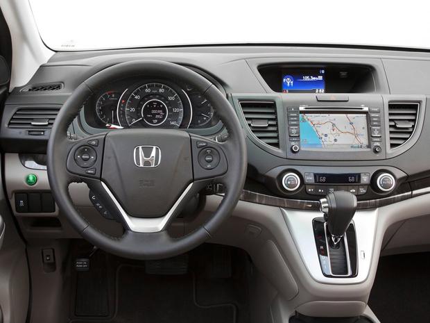 Honda CR-V 2012 (Foto: Divulgação)