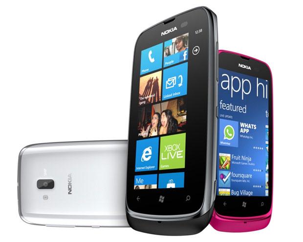 Lumia 610 é o smartphone mais barato da série e será vendido por 190 euros (Foto: Divulgação)