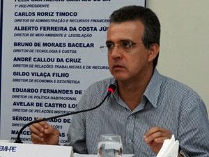 Marcello Gomes, presidente do conselho deliberativo e coordenador do 5º Salão Imobiliário de Pernambuco (Foto: Katherine Coutinho / G1 PE)