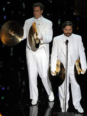 Zach Galifianakis and Will Ferrell  (Foto: AP)