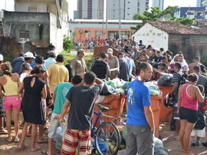 Corpo de homem é encontrado com várias facadas na Paraíba (Foto: Walter Paparazzo/G1)