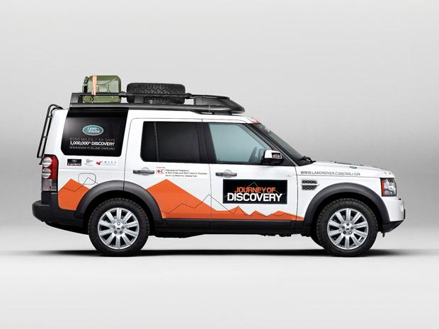 Land Rover Discovery de número 1 milhão acaba de ser produzido na Inglaterra (Foto: Divulgação)