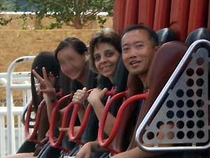 Foto da família de Gabriela Nichimura antes do acidente tirada pela tia (Foto: Arquivo Pessoal/ Reprodução EPTV)