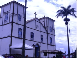 Igreja Nossa Senhora do Rosário, em Pirenópolis, Goiás (Foto: Arquivo pessoal/Ernesto Petrillo)