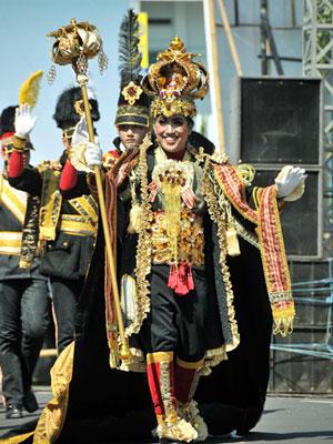 Dynand Fariz em dia de carnaval (Foto: Divulgação)