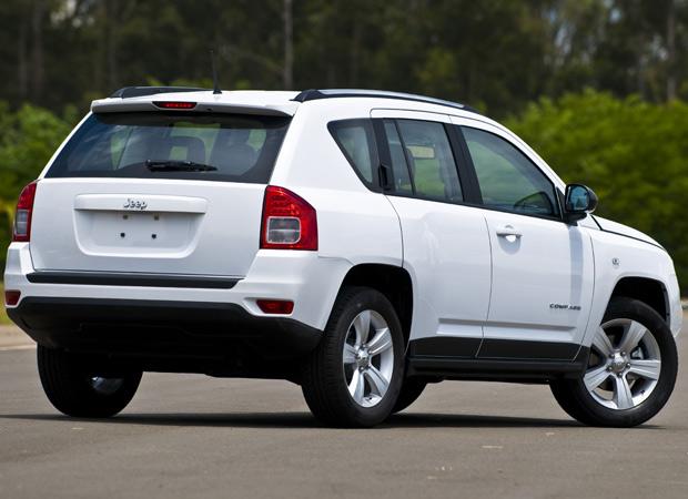 Jeep Compass é inspirado no Grand Cherokee (Foto: Divulgação)