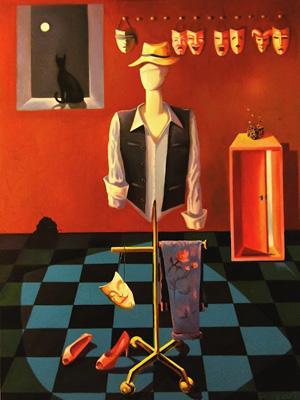 """""""Cubo Mágico"""" é uma das 17 obras da mostra. (Foto: Divulgação)"""