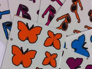 Adesivos da Smart Joy (Foto: Divulgação)