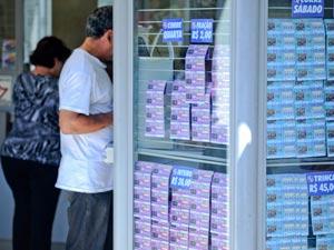 Loteria Federal  (Foto: Raul Zito/G1)
