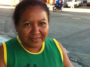 Dona de casa esperou 3 horas por atendimento (Foto: Leandro Nossa/ G1ES)