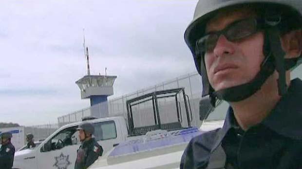Prisão modelo no México abrigará chefões do tráfico (Foto: BBC)