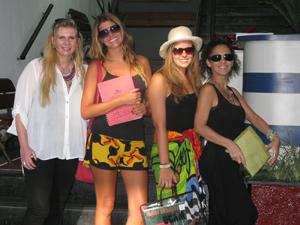 Garotas saradas de canga nas faculdades da zona sul do Rio