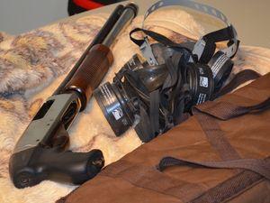 A quadrilha usava um escopera para render os vigilantes (Foto: Marina Fontenele/G1 SE)