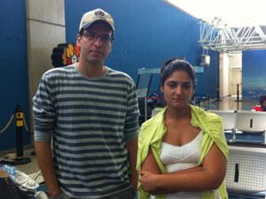 Rodrigo e Priscila (Foto: Janaína Carvalho/G1)