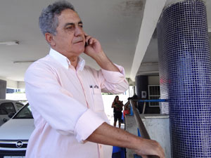Delegado José do Prado tentou ouvir filho de bispo (Foto: Luna Markman/G1)