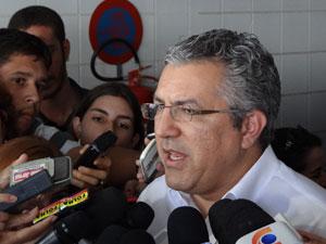 Ministro Alexandre Padilha fala sobre IDSUS (Foto: Luna Markman/G1)