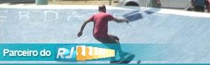 Pista de skate é pioneira na América Latina  (Reprodução/TV Globo)