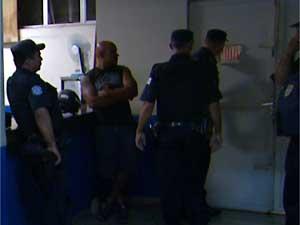 Delegacia da Polícia Civil de Vinhedo (Foto: Reprodução EPTV)