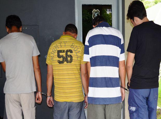 Suspeitos continuarão presos no Cope até o final da investigação (Foto: Marina Fontenele/G1 SE)