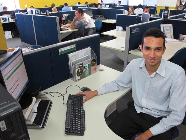 Elder Rodrigues, de 18 anos (Foto: Darlan Alvarenga/G1)