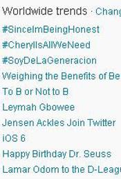 Trending Topics no Mundo, 17h14 (Foto: Reprodução)