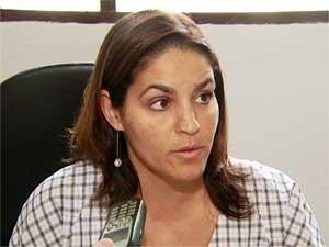 Promotora de Vinhedo Ana Beatriz Sampaio Silva Vieira (Foto: Reprodução EPTV)
