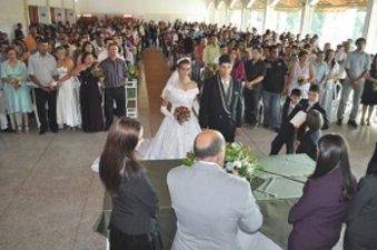 Ibiúna abre inscrições para casamento comunitário (Foto: Divulgação)