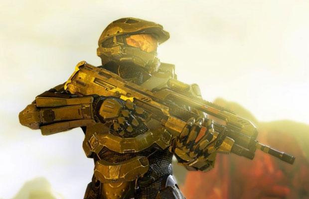 Imagem de 'Halo 4' mostra a nva armadura de Master Chief (Foto: Divulgação)