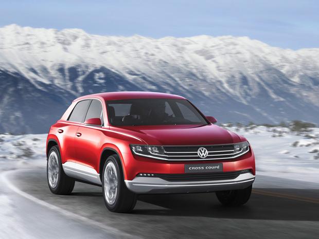 VW Cross Coupé Concept foi apresentado em Tóquio e estará em Genebra com novo motor (Foto: Divulgação)