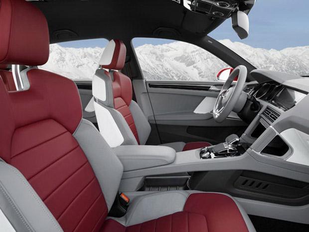 VW Cross Coupé Concept tem 306 cv de potência na nova configuração (Foto: Divulgação)