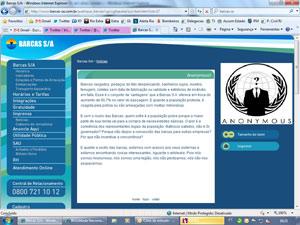 Texto com críticas ao estado de conservação das barcas no site da Barcas S/A (Foto: Reprodução/ Internet)
