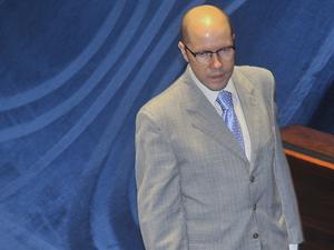 O líder do DEM no Senado, Demóstenes Torres (GO) (Foto: José Cruz/ABr)