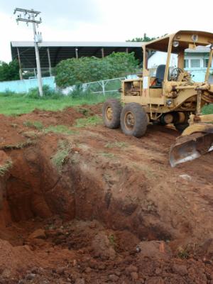 Desbarrancamento em Boituva (Foto: Colaboraçao: Jornal Cidade)