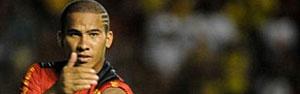 Jael diz que ainda não se sente ídolo no Sport (Aldo Carneiro/Globoesporte.com)