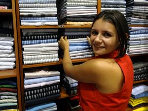 Comércio apresenta maior aumento da ocupação para as mulheres. (Foto: Katherine Coutinho / G1)