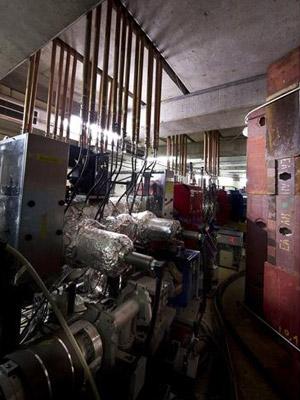 Desacelerador de prótons do Cern, máquina usada na experiência com a antimatéria (Foto: Cern)