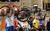 Ciclistas protestam  contra mortes (Raquel Freitas/G1 MG)