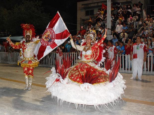 Desfile da Cova da Onça, campeã de 2011 (Foto: Ivete de Carvalho/Divulgação)