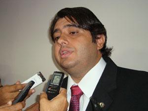 Deputado da PB André Gadelha  (Foto: Jhonathan Oliveira/G1)