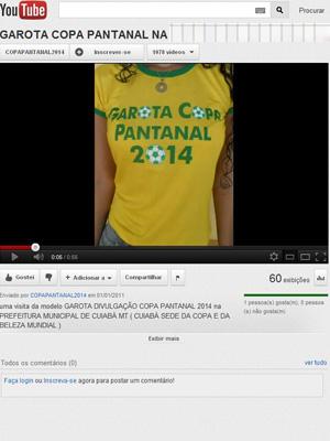 Candidata Garota Pantanal (Foto: Reprodução / Reprodução)