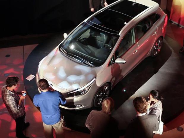 Kia Cee'd vai ganhar ainda este ano a versão perua para a segunda geração (Foto: Divulgação)