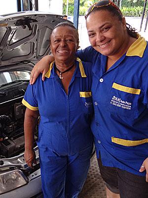Severina e Tatiana Pessoa (Foto: Katherine Coutinho / G1)