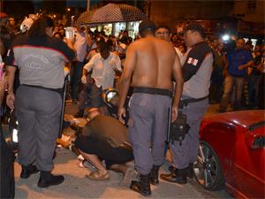 Agentes da Sedurb foram baleados em João Pessoa (Foto: Walter Paparazzo/G1)