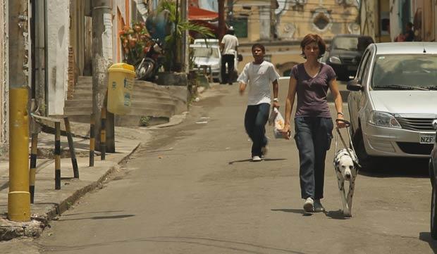 Sophie Massieu e Pongo (Foto: BBC)