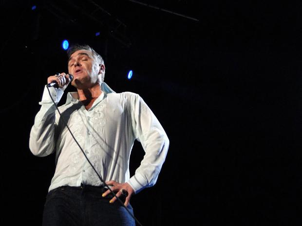 Morrissey se apresenta em Belo Horizonte. (Foto: Pedro Cunha/ G1 MG)