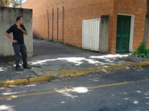 Vítima de furto em Piracicaba (Foto: Eduardo Guidini/G1)