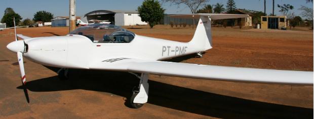modelo do planador (Foto: Divulgação)